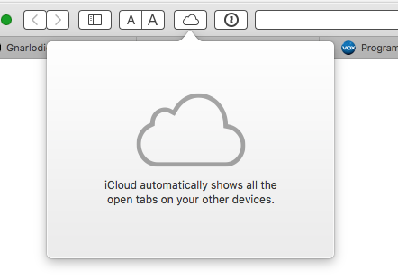 Safari iCloud tabs button greyed out - Apple Community