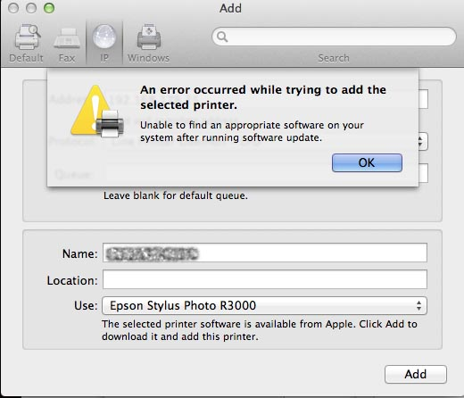 Can't download EPSON printer software… - Apple Community