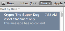 Mail no longer shows attachments in paper… - Apple Community