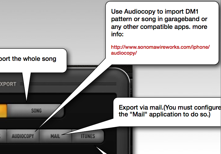 Is it possible to IMPORT audio which I sa… - Apple Community