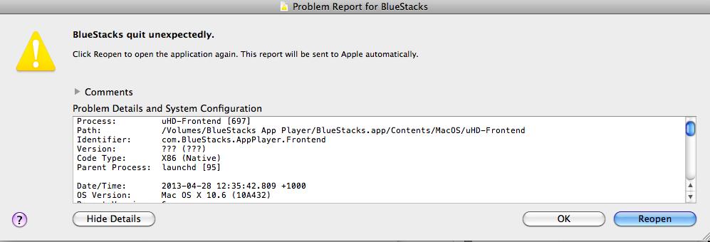 Bluestacks Docker Image