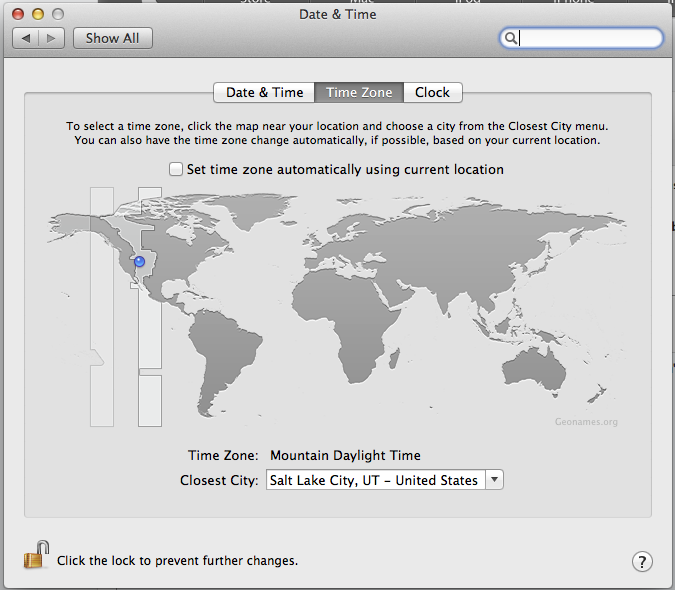 Salt Lake City Time Zone Map.Mac Mini Didn T Automatically Update For Apple Community