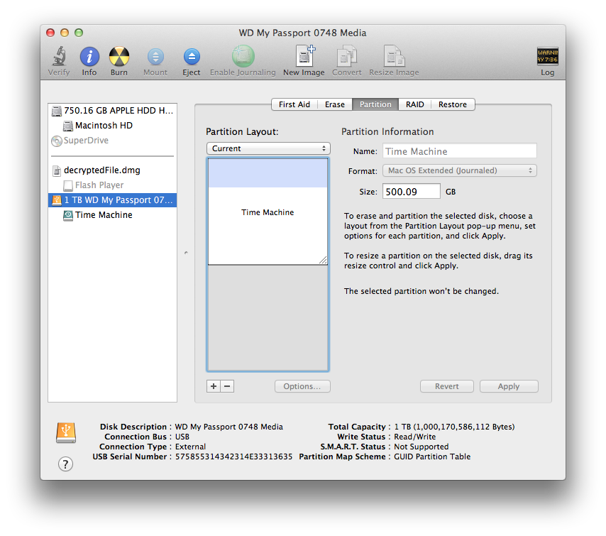 WD My Passport partition not 'seen … - Apple Community