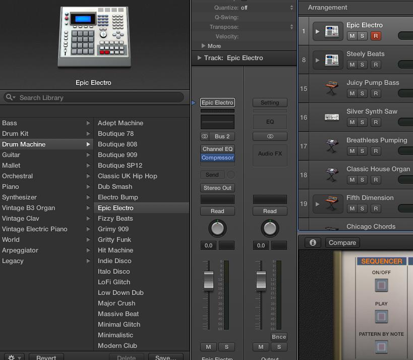 Logic Pro X - How do I Record the built i… - Apple Community