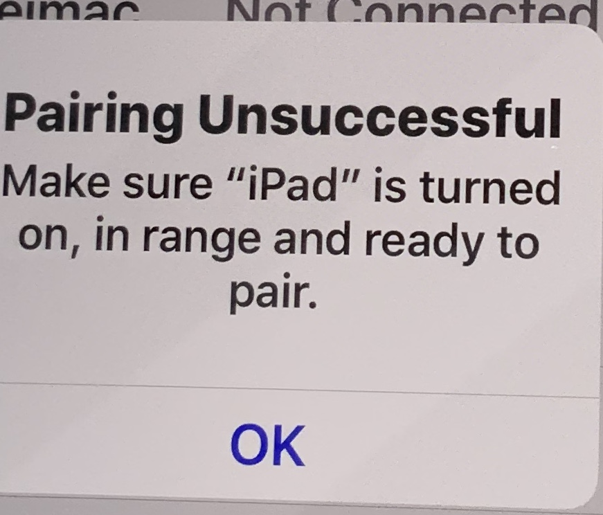 Bluetooth Issues Between Ipad Air And Iph Apple Community