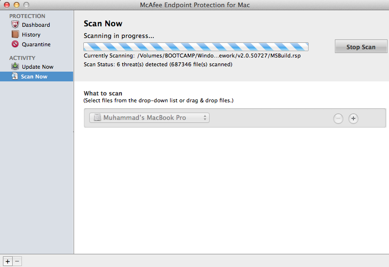 ANTI-VIRUS SCAN ! - Apple Community