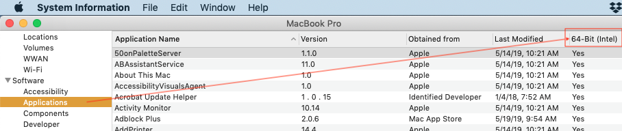 not optimized for your mac and needs to b… - Apple Community