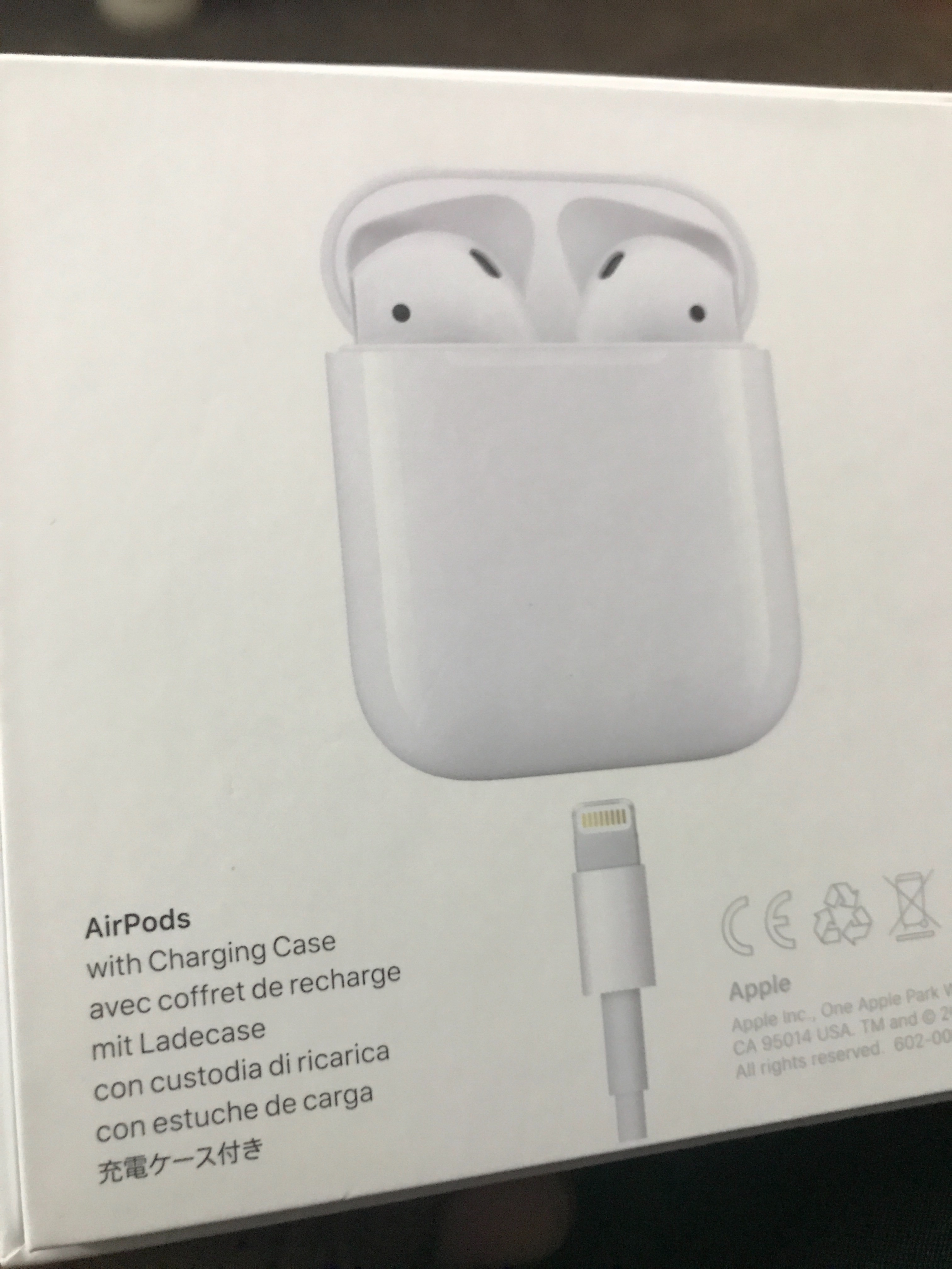 apple airpod case serial number