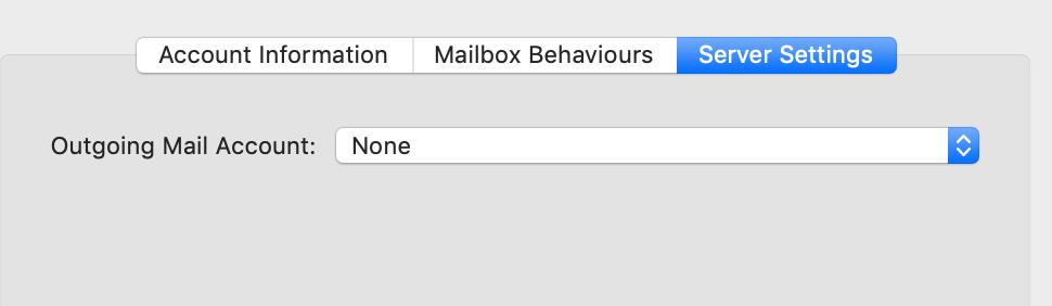 Mail smtp servers behaving strangely - Apple Community