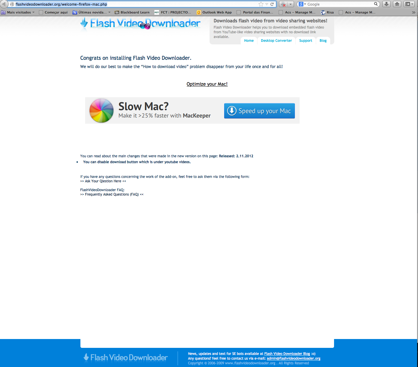 is this dangerous ? http://flashvideodown… - Apple Community