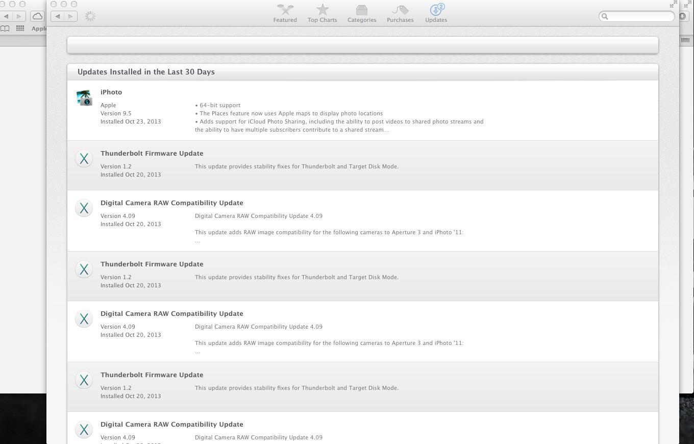 Mac App Store not showing updates in list… - Apple Community