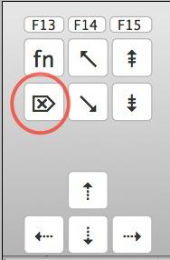 apple keyboard insert overwrite