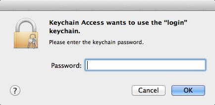 rebuild login keychain