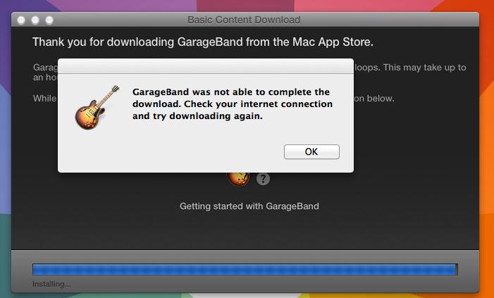 New Garageband in Mavericks not installin… - Apple Community