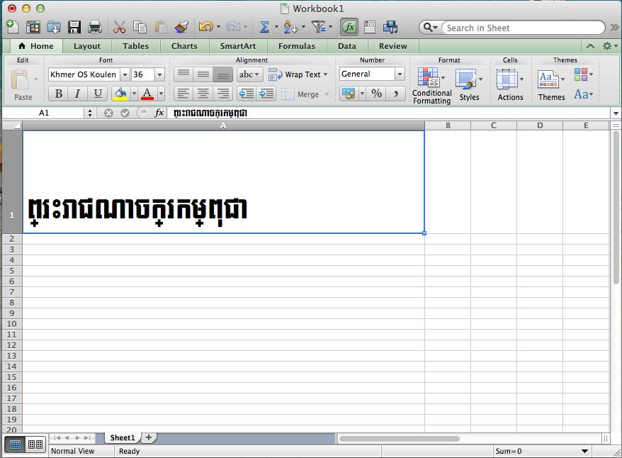 Khmer Unicode Doesn't Work Properly o… - Apple Community