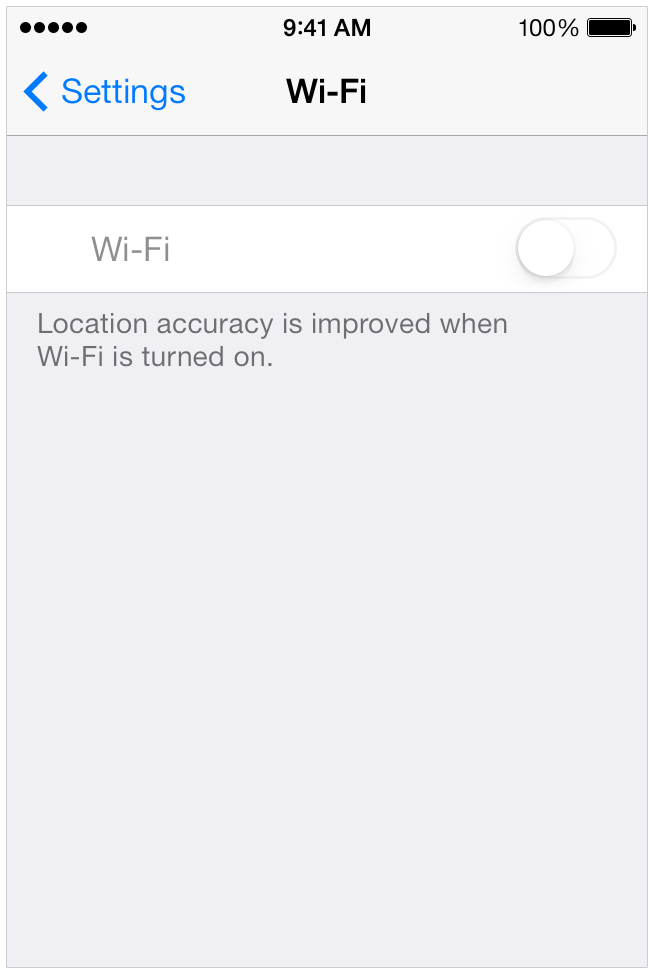 Unable to turn on Wifi on iPhone 4S iOS 7… - Apple Community
