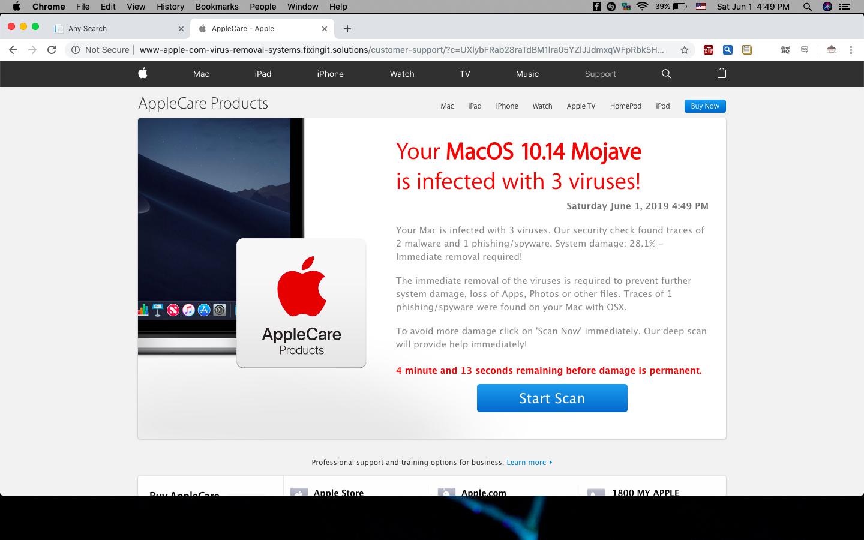 Always effected by virus - Apple Community