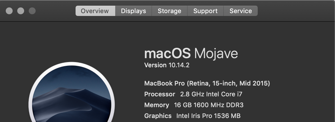 Mojave restarting itself in the middle of… - Apple Community