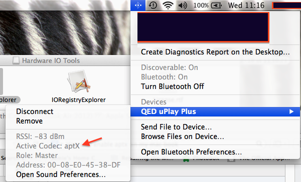 No Apt-X BlueTooth Codec (Macbook Air 201… - Apple Community