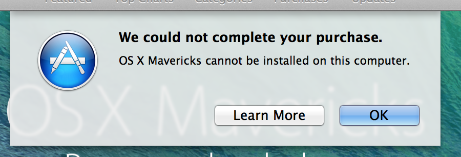 mavericks 13b3116