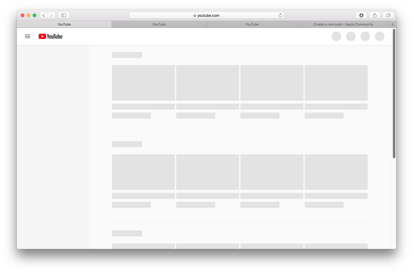 Youtube Not Working Properly On Safari Bu… - Apple Community
