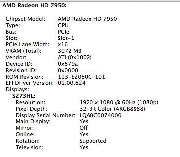 Re: Sapphire HD 7950 Mac Pro Edition 3GB … - Apple Community