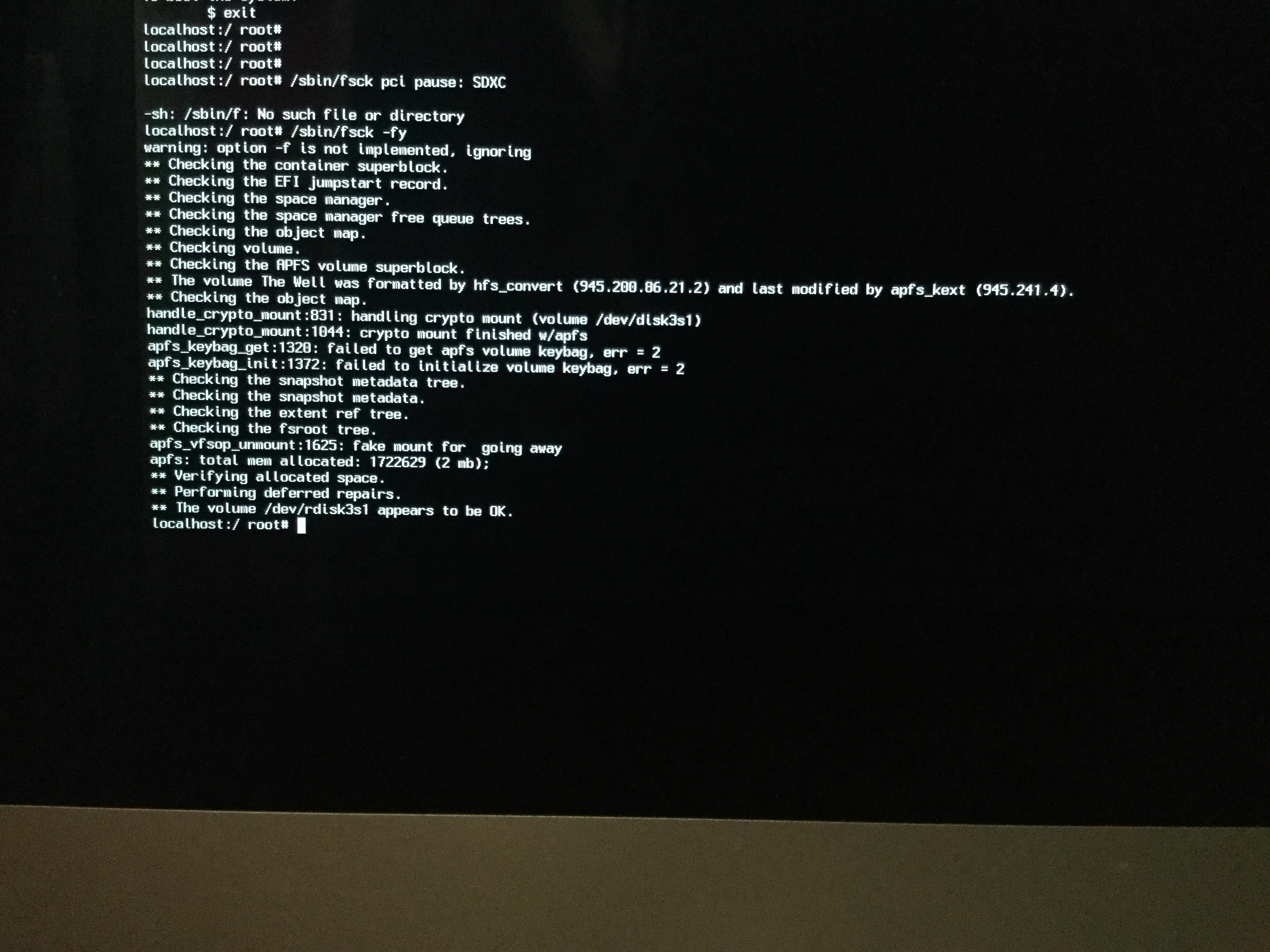disk3s1 i/o error - Apple Community