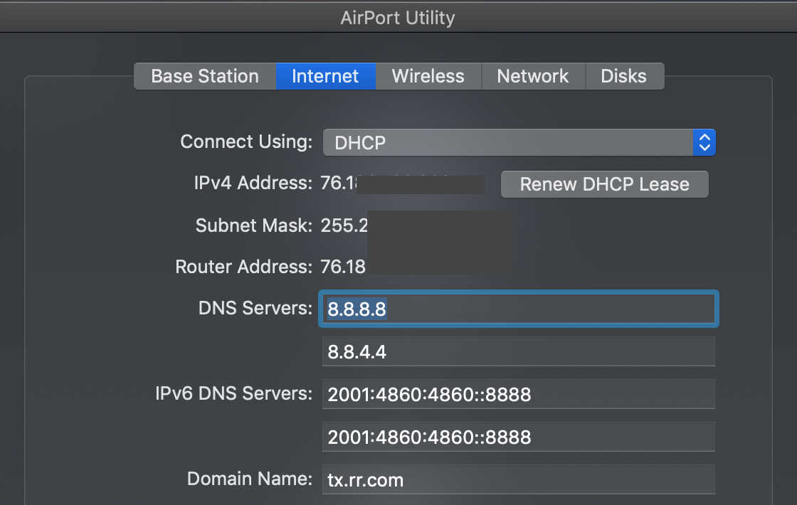 Airport Extreme Not Working with Spectrum - Apple Community