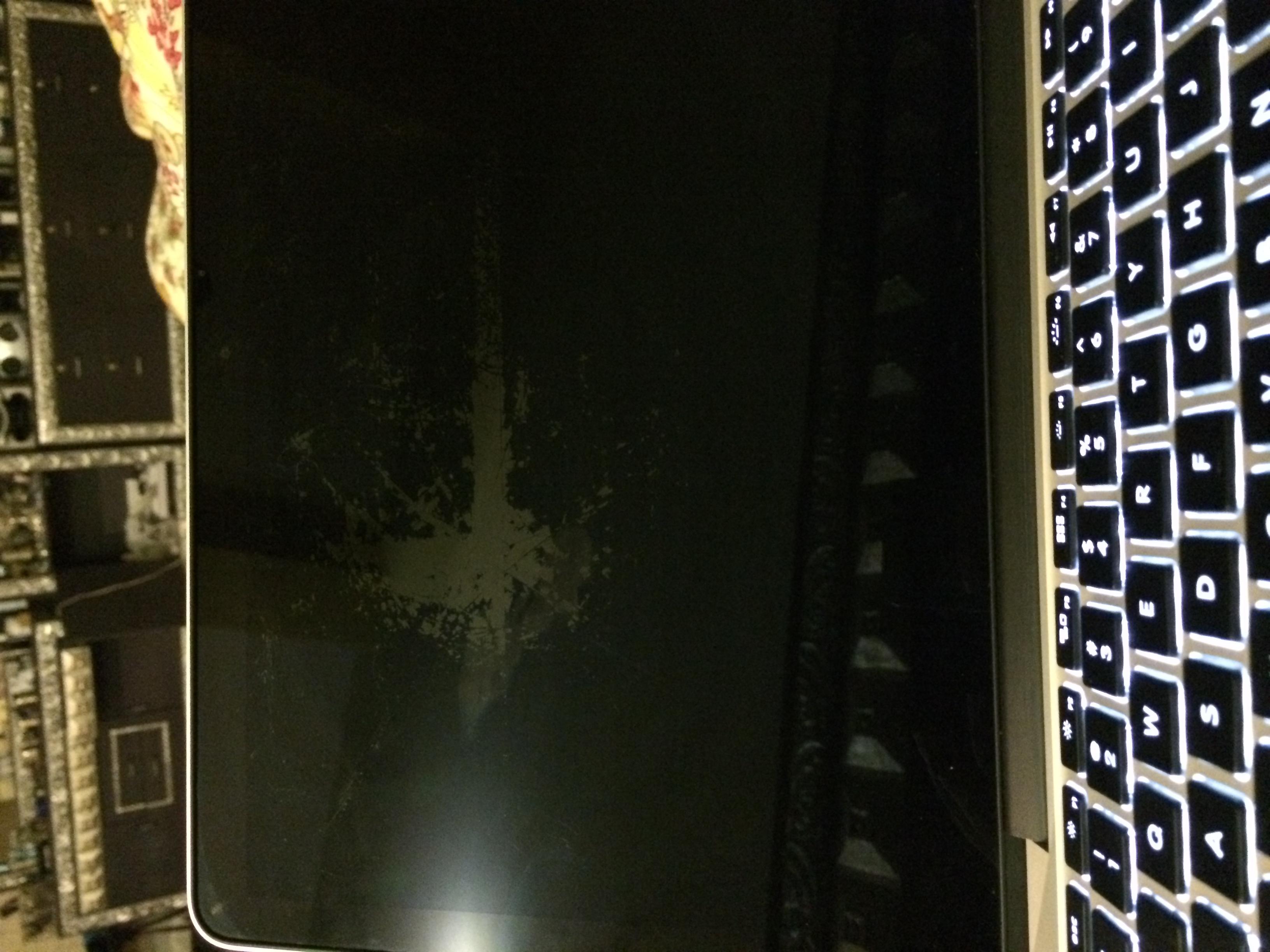 Macbook pro retina screen damaged using a… - Apple Community