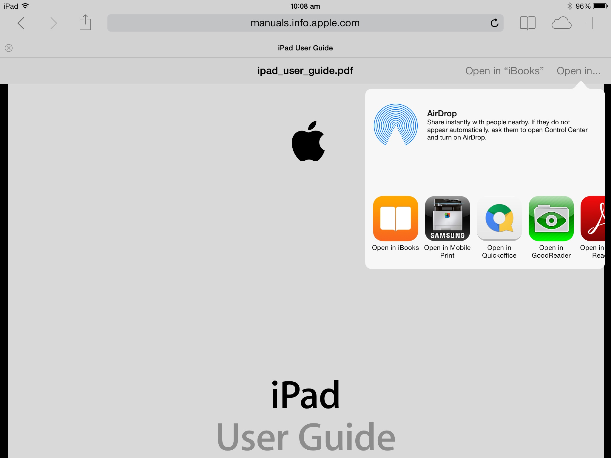 ipad moodle download pdf