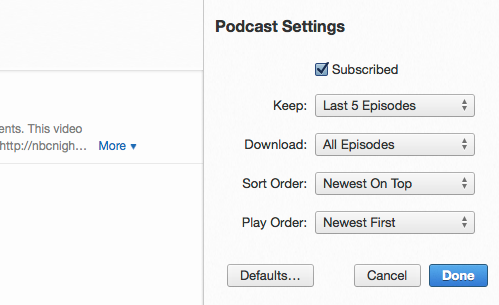 iTunes stops updating podcasts / iTunes h… - Apple Community