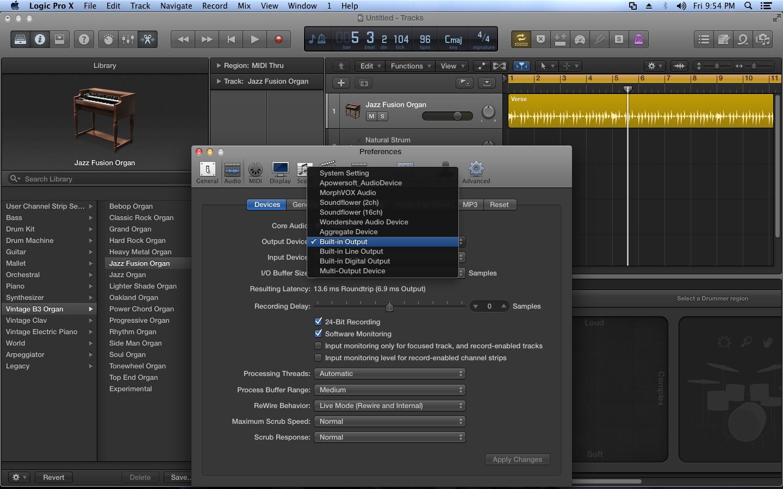 Logic Pro no sound? new mac user - Apple Community