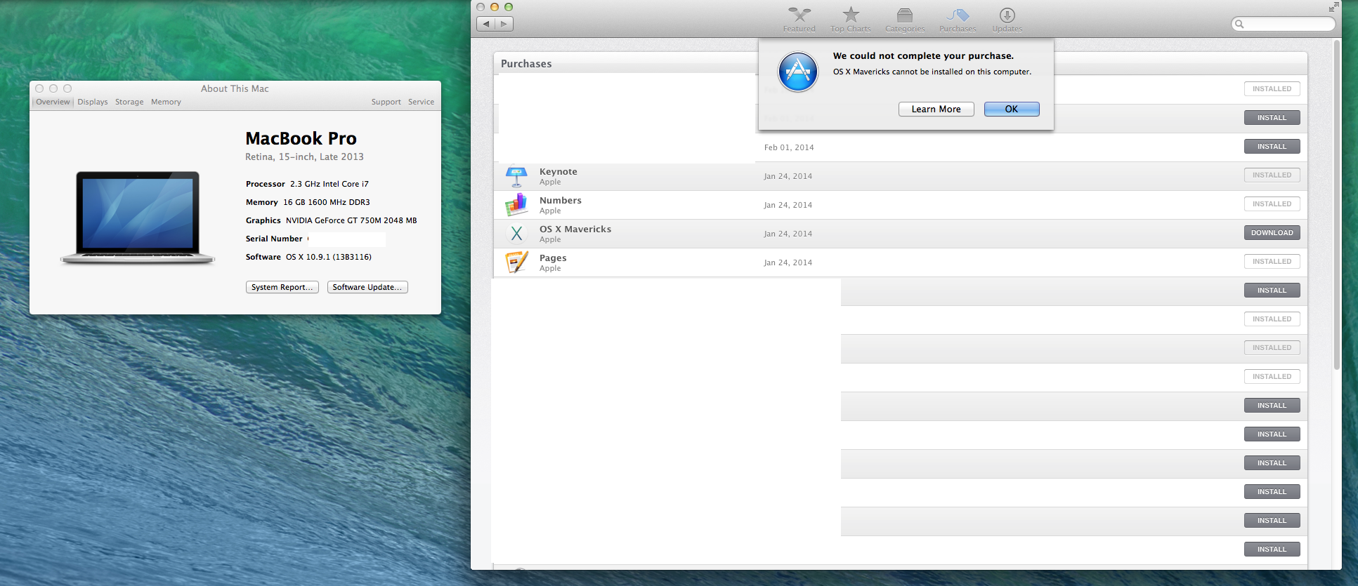 I Can't Download Mavericks from AppSt… - Apple Community