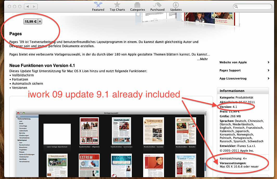 need pages for ibook running 10 5 8 - Apple Community