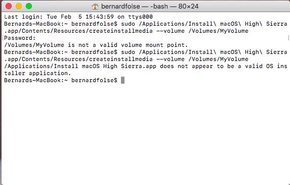 Create Bootable Usb From Mac