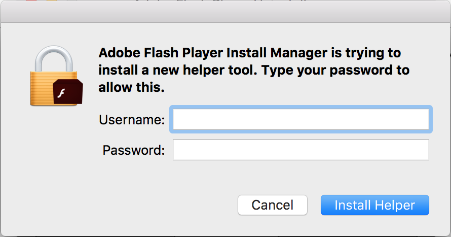 Install Flash Player For Mac