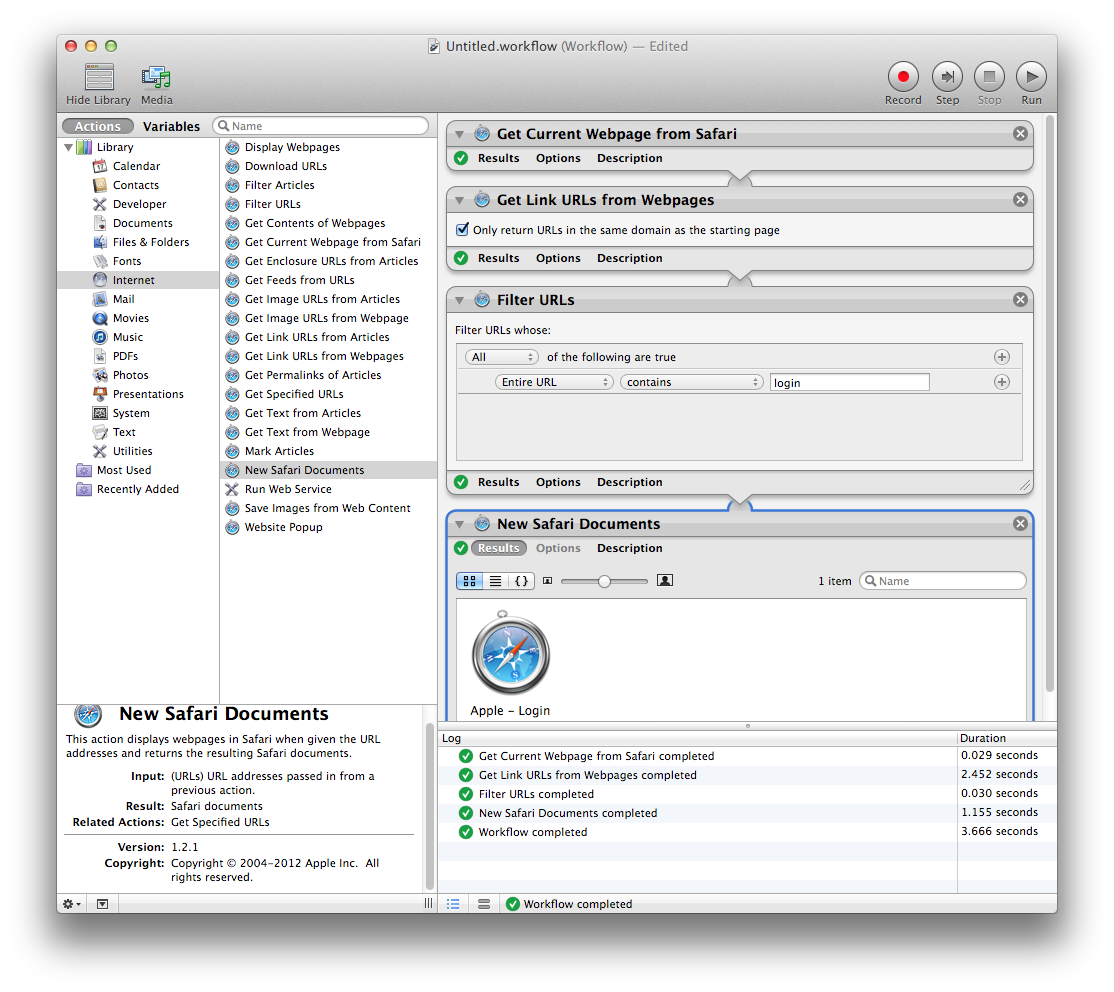 how to configure Automator to automatical… - Apple Community