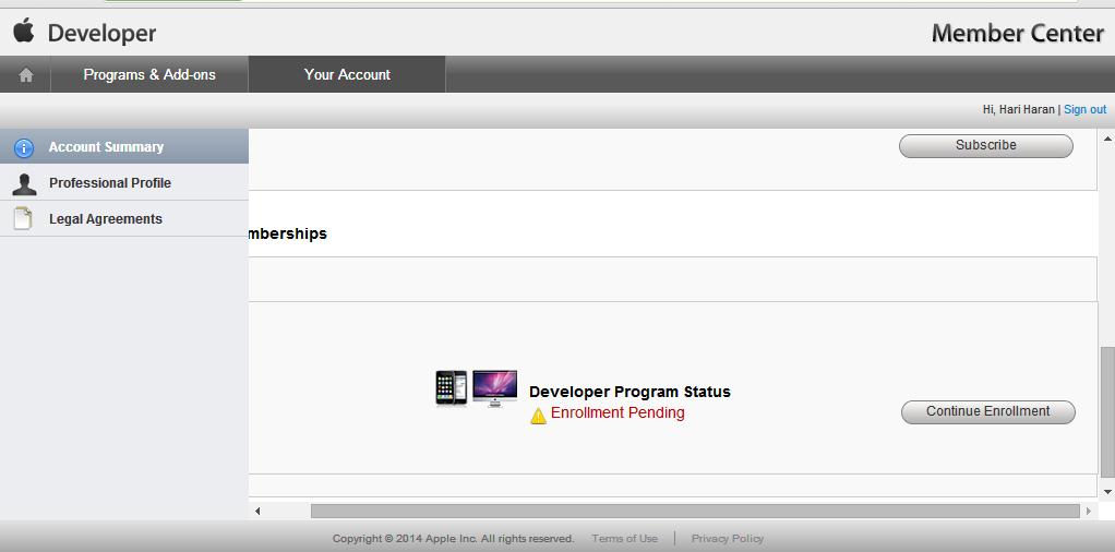 iOS Developer Program Enrollment Pending - Apple Community