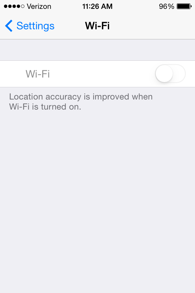 my iphone 4s wont connect to wifi