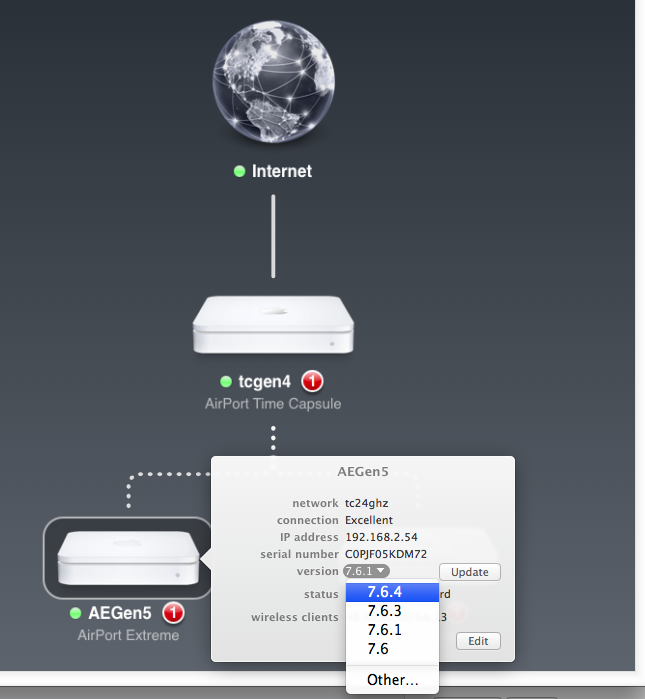 Airport extreme won't work without ro… - Apple Community