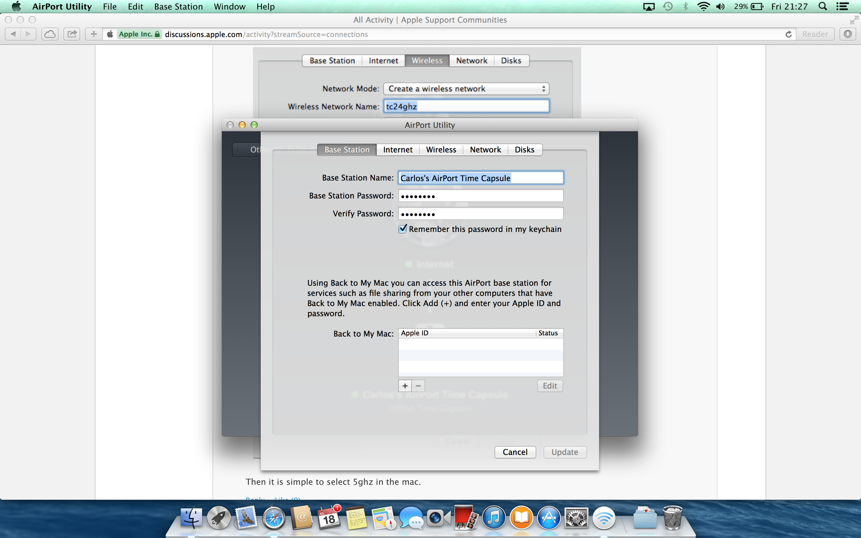 How to correctly set-up my Time Capsule w… - Apple Community