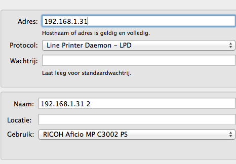 OSX 10 9 Can't print on Ricoh network… - Apple Community