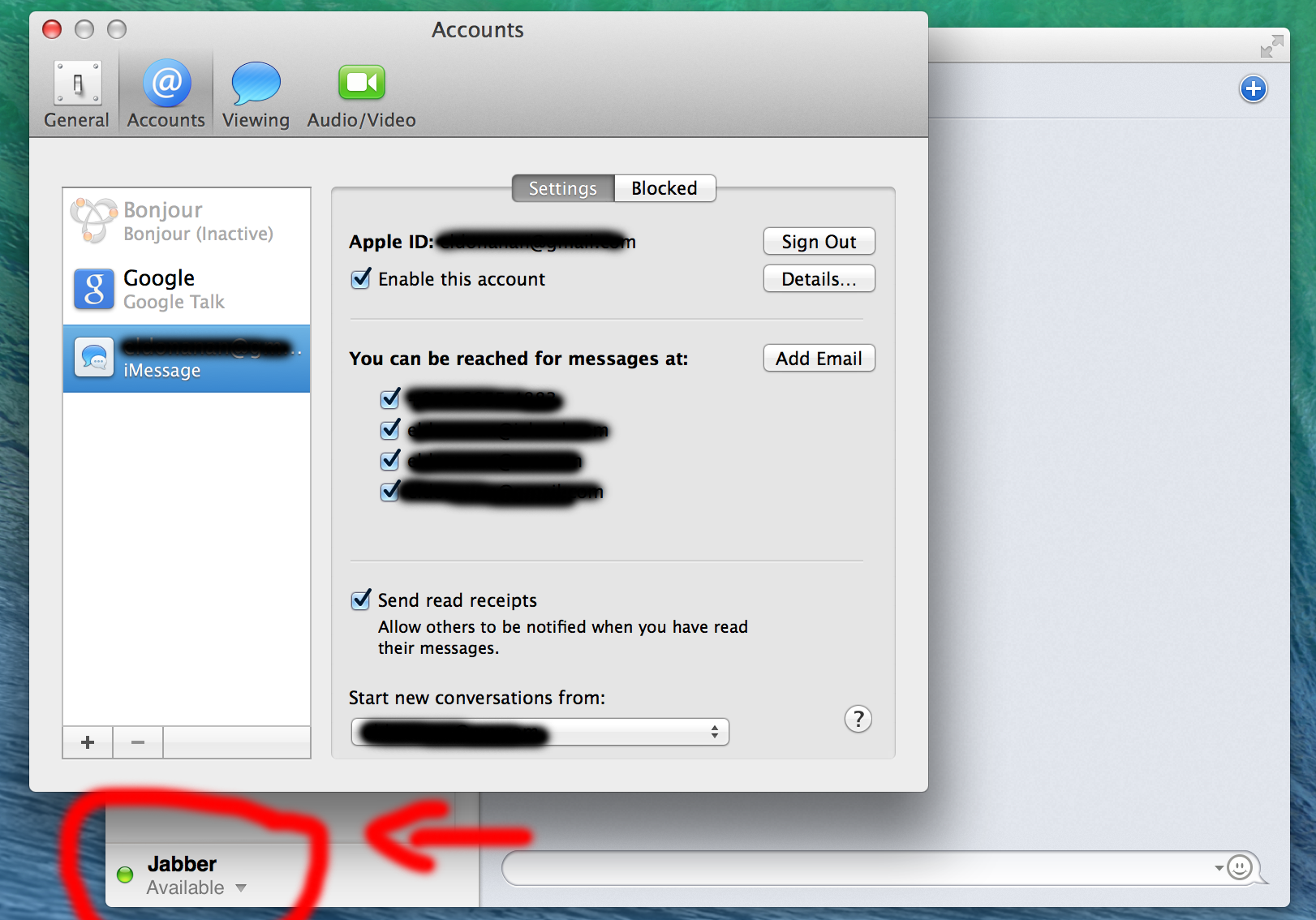 what is Jabber in iMessages and how can i… - Apple Community