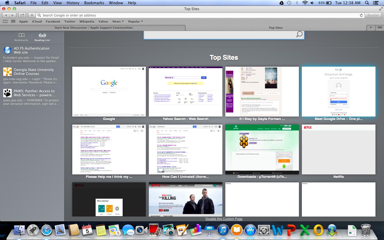 Safari is acting weird - Apple Community
