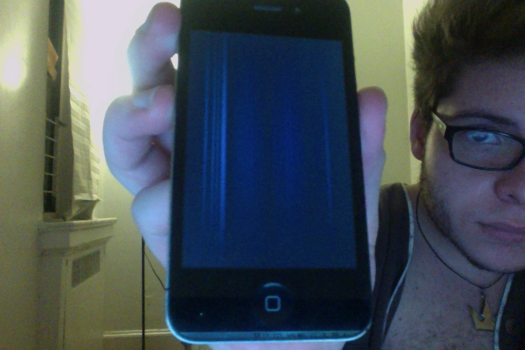 I dropped my iPhone 4S in some paint    - Apple Community