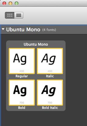Ubuntu font and Mac OSX - Apple Community