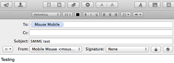 Mavericks: cannot decrypt S/MIME email - Apple Community