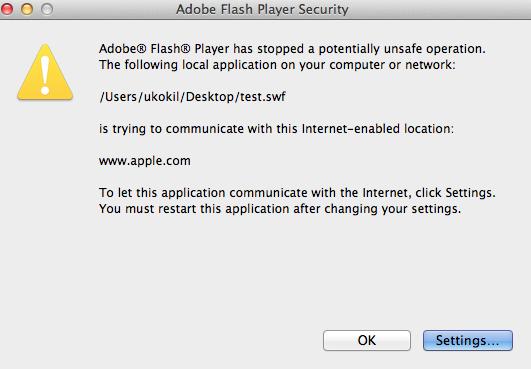 Flash player won't play - Apple Community