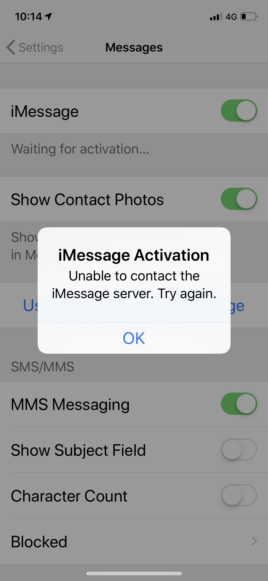 iMessage stopped working - Apple Community