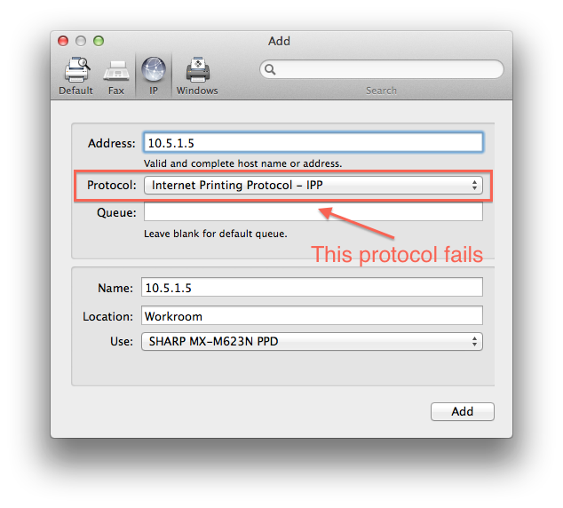Unable to verify the printer on the netwo… - Apple Community
